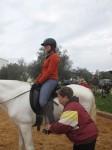 Mijn eerste ervaring met Centered Riding in Spanje met Sue Leffler